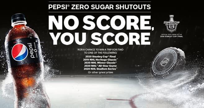 Pepsi Zero Sugar Shutouts Sweepstakes (PepsiZeroSugarShutouts.com)