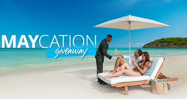 Sandals and Beaches Resorts Maycation Sweepstakes