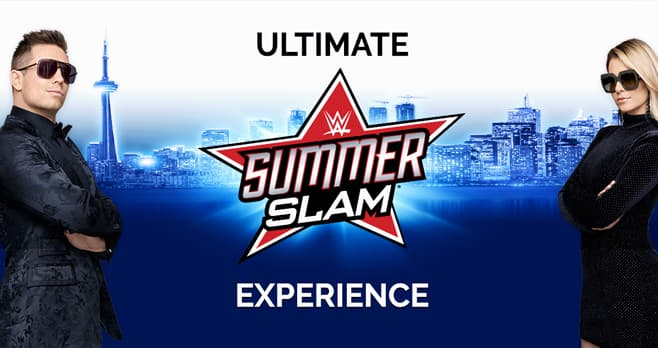 USA Network Miz & Mrs Ultimate SummerSlam Experience Sweepstakes