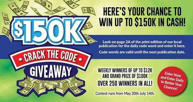 150K Giveaway (150kgiveaway.com)