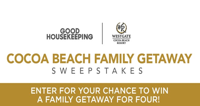 Good Housekeeping Cocoa Beach Sweepstakes (CocoaBeach.GoodHousekeeping.com)