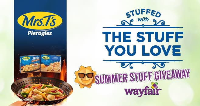 Mrs. T's Pierogies Summer Stuff Giveaway