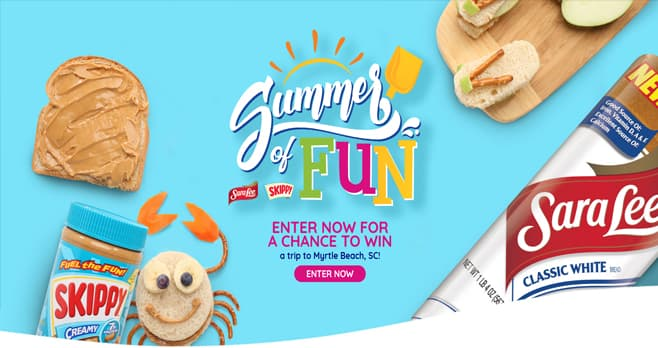Summer of Fun Sweepstakes (OurSummerOfFun.com)