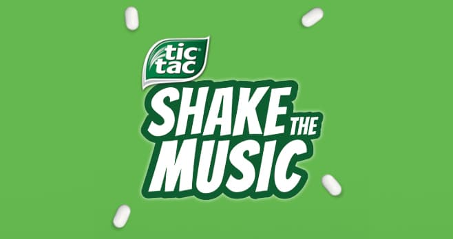 Tic Tac Shake the Music Sweepstakes (ShakeTheMusic.com)