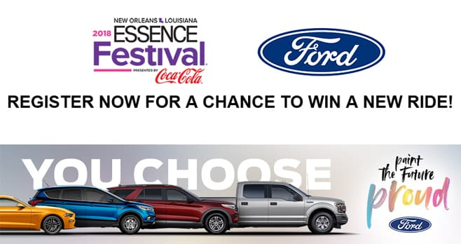 ESSENCE 2020 Ford Vehicle Sweepstakes