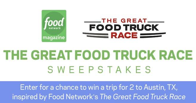 Food Network Food Truck Sweepstakes
