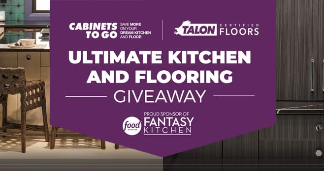 Food Network Ultimate Kitchen and Flooring Giveaway