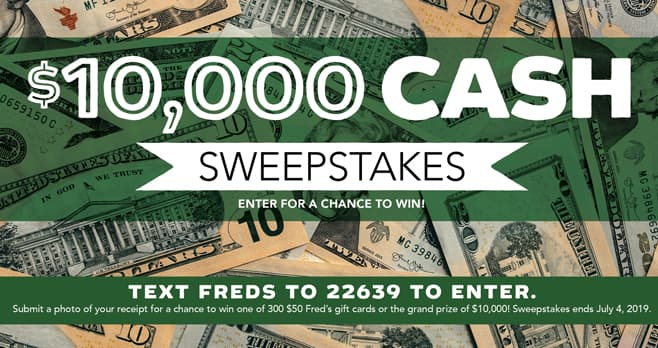 Win Cash Sweepstakes