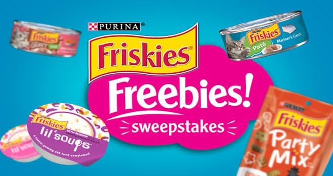 Friskies Freebies Sweepstakes (Friskies.com)