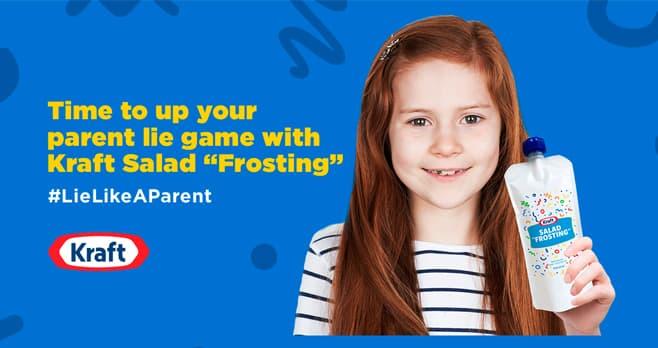 Kraft Lie Like A Parent Contest (KraftLieLikeAParent.com)