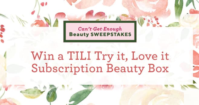 QVC Can't-Get-Enough Beauty Sweepstakes Sweepstakes (QVC.com/Sweepstakes)