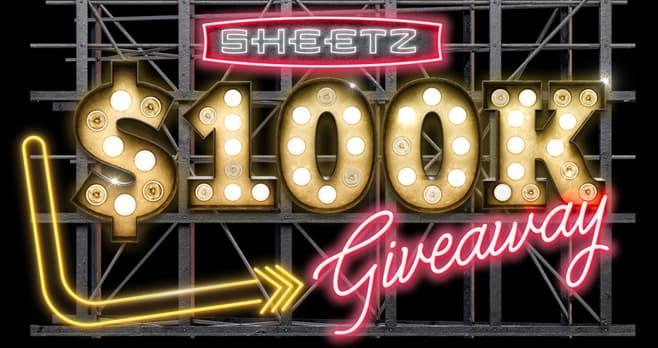 Sheetz $100K Giveaway (SheetzShweepstakes.com)