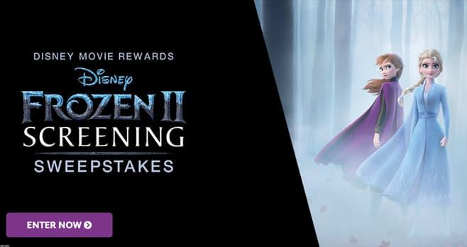 Disney Frozen 2 Sweepstakes