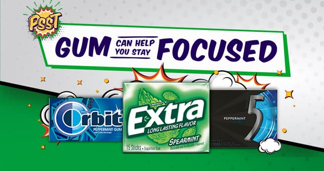 Focus with Gum Sweepstakes