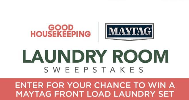 Good Housekeeping Laundry Room Sweepstakes