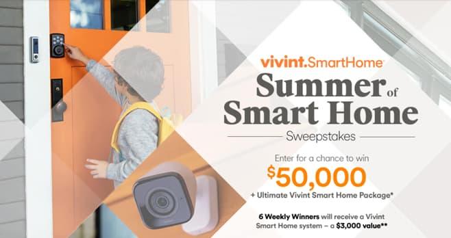 HGTV Smart Home Sweepstakes (HGTV.com/SmartSummer)