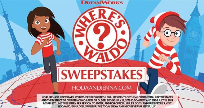 Hoda and Jenna Where's Waldo Sweepstakes