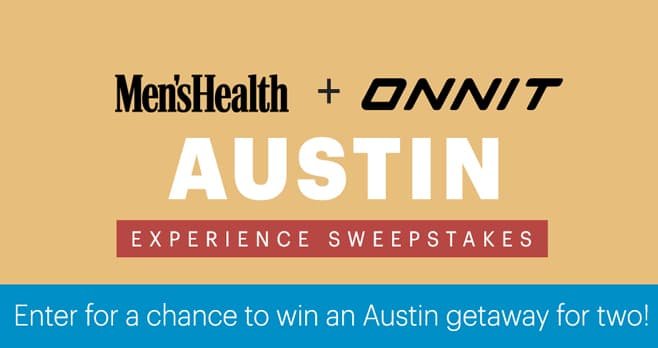 Men's Health Onnit Experience Sweepstakes
