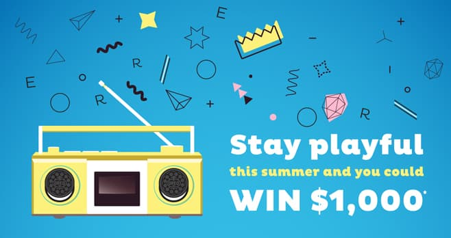 OREO Stay Playful Sweepstakes