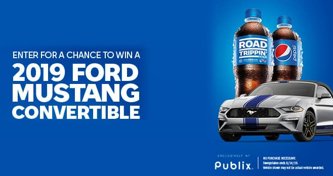 PEPSI Full Throttle Sweepstakes at Publix