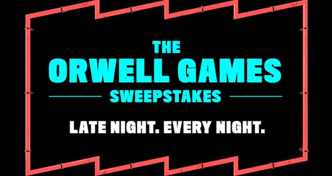 Pop TV The Orwell Games Sweepstakes