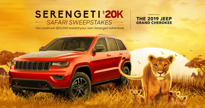 Discovery Channel Serengeti Sweepstakes (Discovery.com/SerengetiSweeps)