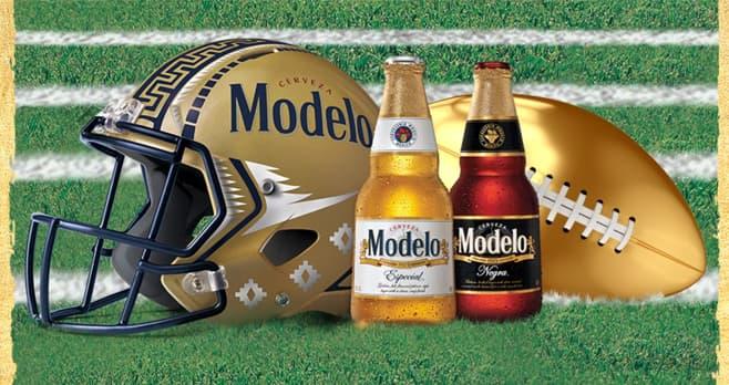 Modelo Beer Football Sweepstakes (ModeloFootball2019.com)