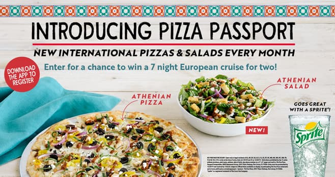 Pie Five Pizza Pizza Passport Sweepstakes