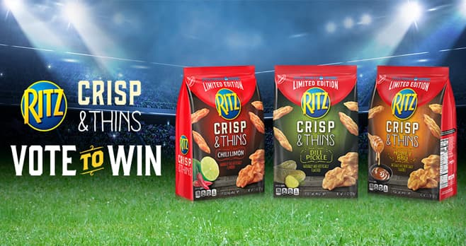 Ritz Rich Rivalries Sweepstakes & Instant Win Game (RichRivalries.com)