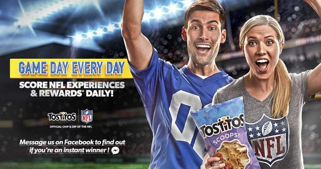 Tostitos Game Day Every Day Sweepstakes