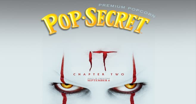 Pop Secret IT Chapter Two Sweepstakes