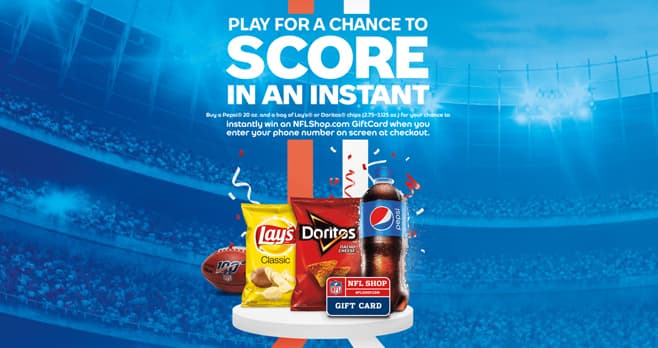 Pepsi NFL Instant Win at Circle K