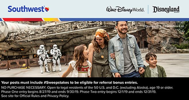 southwest giveaway 2019