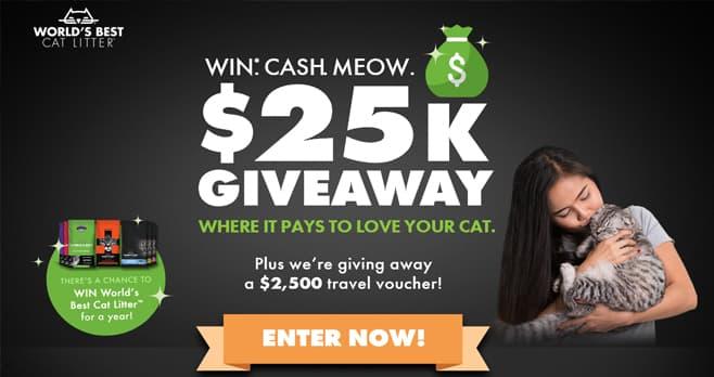 Win Cash Meow Sweepstakes (WinCashMeow.com)