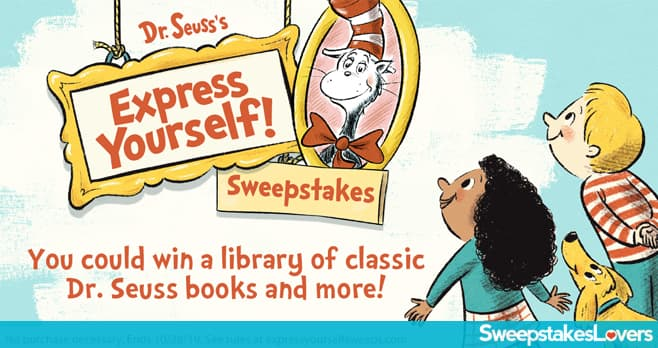 Dr. Seuss Express Yourself Sweepstakes