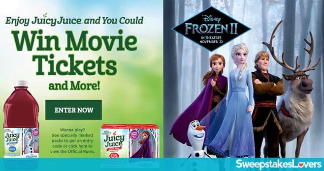 Juicy Juice Frozen 2 Instant Win