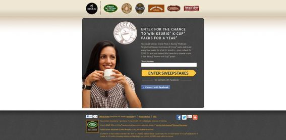 perfectkcup.com – Green Mountain Coffee Perfect Cup Sweepstakes