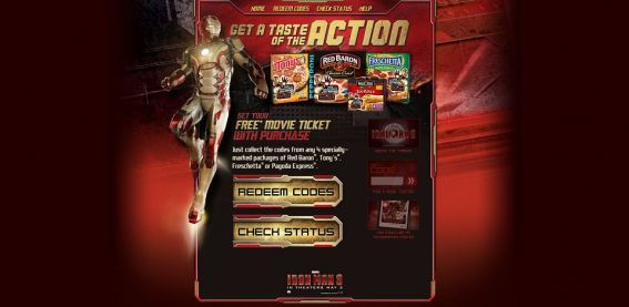 im3ticketoffer.com – Iron Man 3 Hollywood Movie Money Promotion