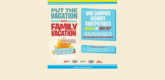 Summer Kick Off Sweepstakes