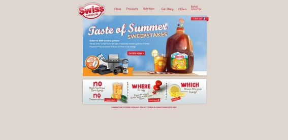 Swiss Tea: Taste of Summer Sweepstakes