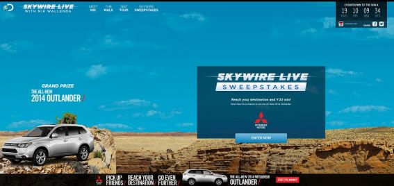 Skywire Live Sweepstakes