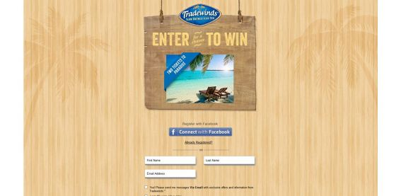 Tradewinds Tea Piece of Paradise Promotion