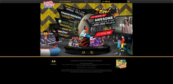 lunchables.com/thefort – LUNCHABLES Access to Awesome Instant Win Game