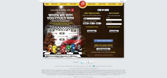 M&M's When We Win, You Could Win Sweepstakes