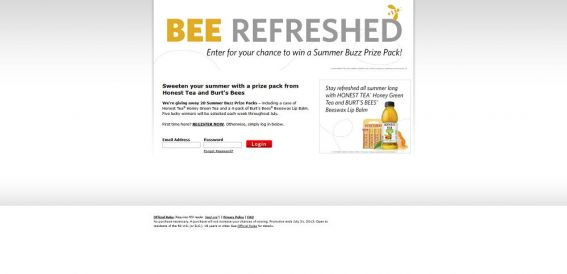 Summer Buzz Prize Pack Giveaway