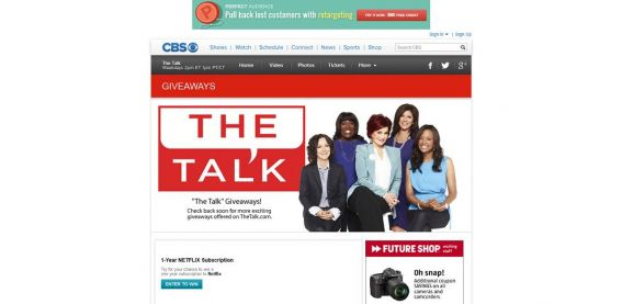 The Talk Web Exclusive Giveaway