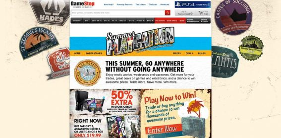 gamestop.com/playcation – GameStop Summer Playcation Sweepstakes