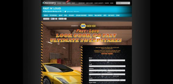 Look Good, Go Fast Ultimate Sweepstakes