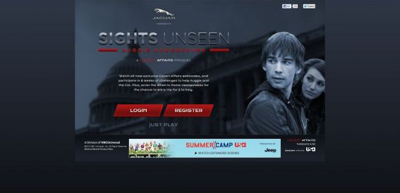 sightsunseen.usanetwork.com – Covert Affairs When in Rome Sweepstakes