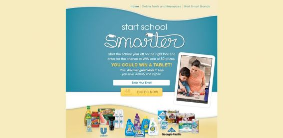 Start School Smarter Sweepstakes